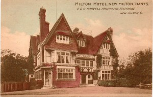 Milton Hotel postcards c 1920s