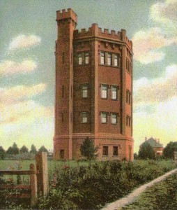 Water Tower New Milton possibly 1910