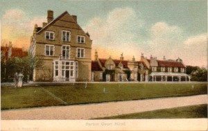 Barton Court Hotel PC dated Aug 10 1907