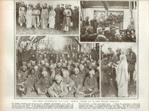Daily Graphic 1915 article re Indian troops entertained at Barton On Sea