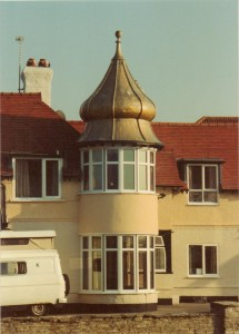Onion Dome Building Barton on Sea 1992