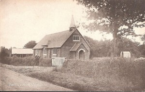 St Johns Church Bashley