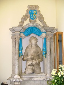 White Thomas memorial in St Mary Magdelene church New Milton.,