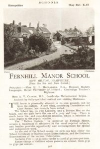 advert-for-fernhill-manor-school