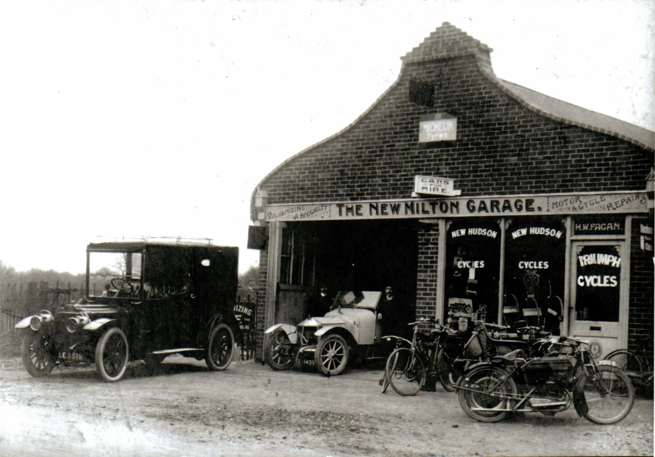 Early transport milton heritage society for New garage