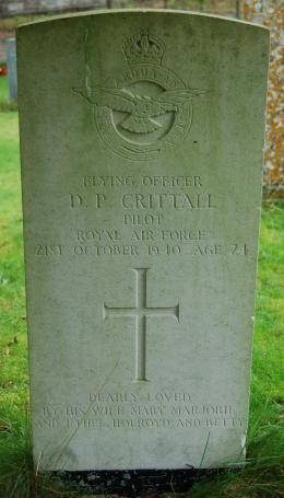 Crittall grave