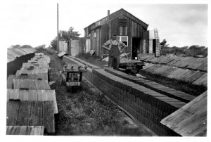 No 4 Stem Lane Brickworks, New Milton with Walter James Legg