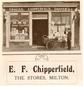 Chipperfield stores advert 1910