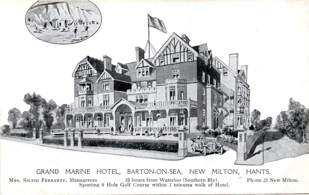 Grand Marine Hotel advert