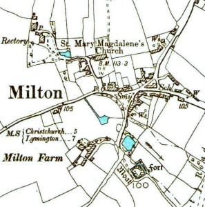 Milton Village 1898