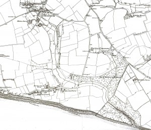Surveyed 1867 - 70 pub 1872 k