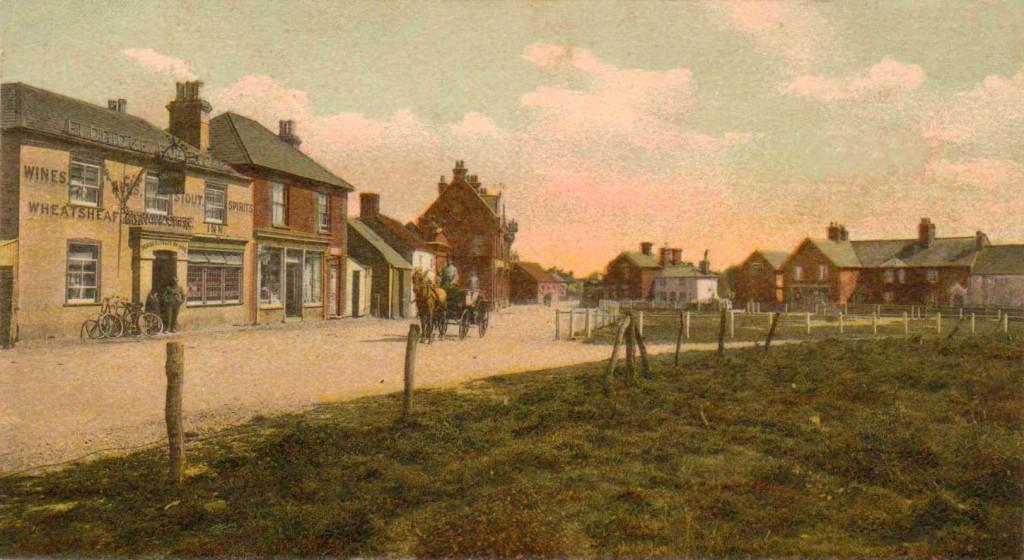 The Wheatsheaf pub Old Milton 18 09 06