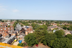 View from the water tower 2014