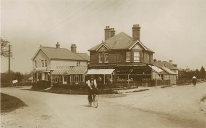 Manor Road junction with Fernhill Road
