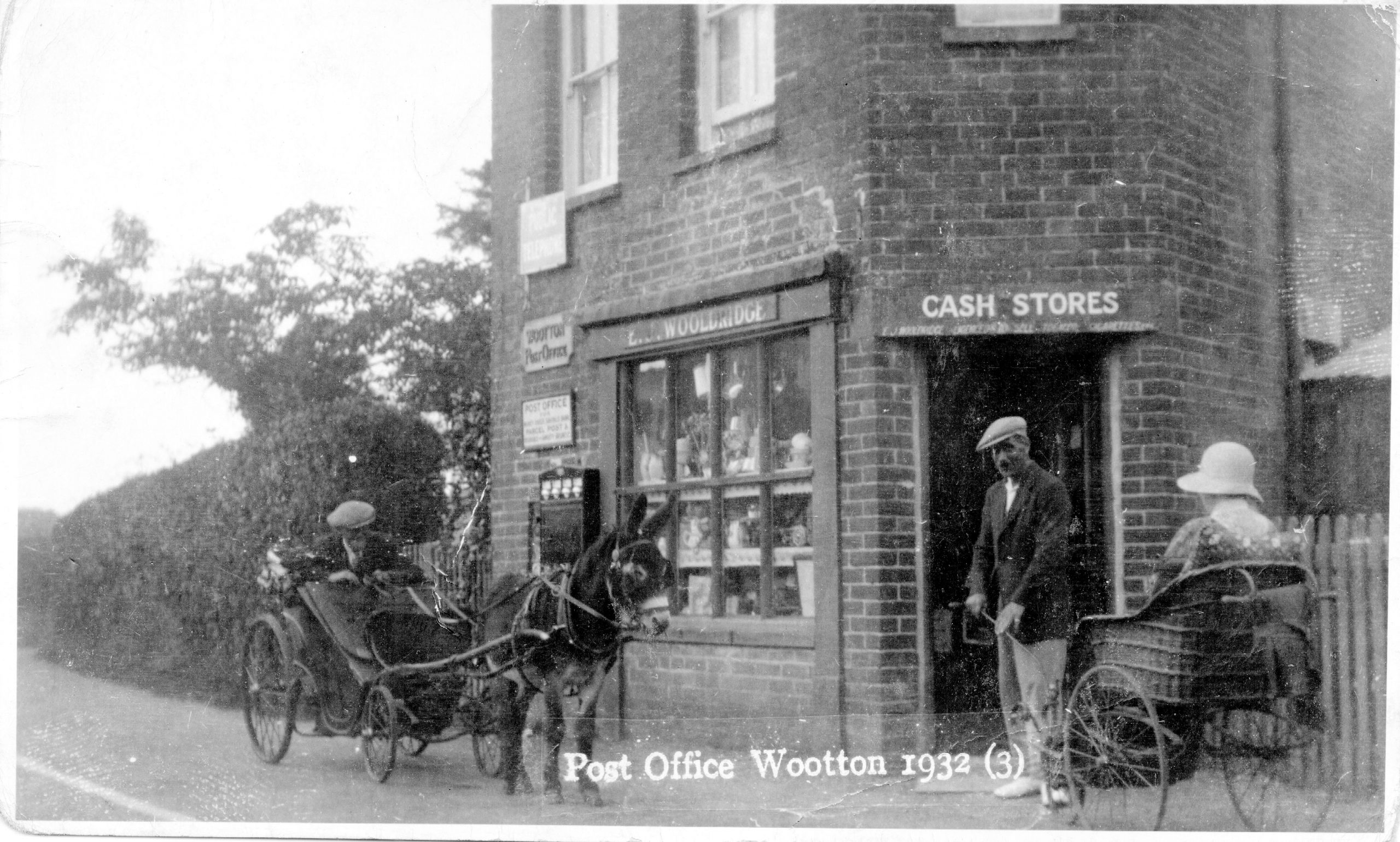 I:\New Milton Photographs and History\Wotton\Article for publication\Photo 1 Wootton Post office March 1937.jpg